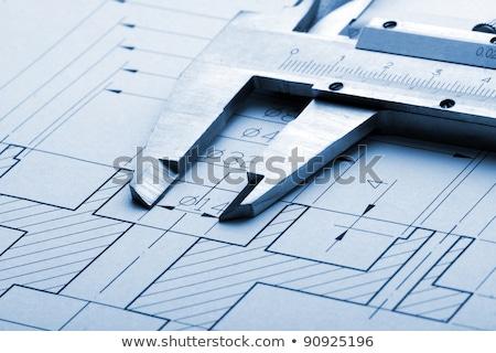план архитектура искусства науки зданий Сток-фото © JanPietruszka