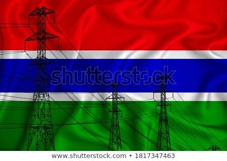 Electricity pole in The Gambia Stock photo © suerob
