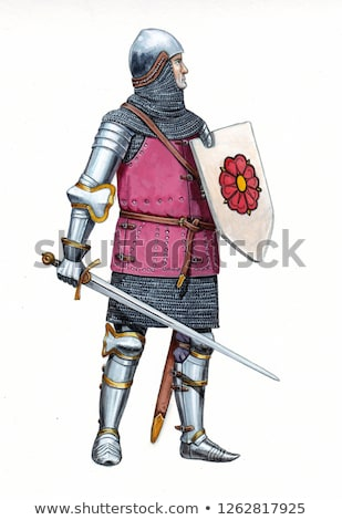 man in knights costume stock photo © photography33