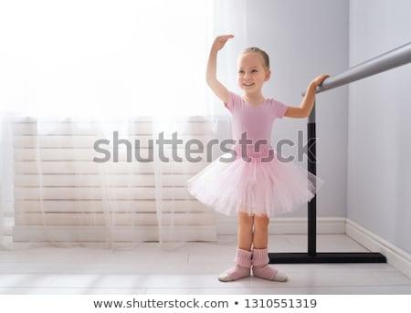 Female Ballerina in Studio Stock photo © tobkatrina