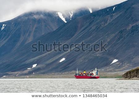 Mare passaggio piccolo barca rocce zante Foto d'archivio © sirylok