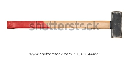 A handyman with a sledgehammer. Stock photo © photography33