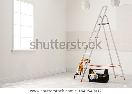 Decorator with a stepladder Stock photo © photography33