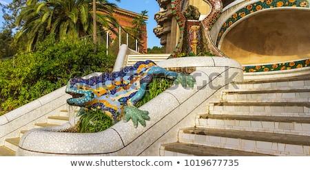 архитектура · подробность · потолок · familia · Барселона - Сток-фото © lunamarina