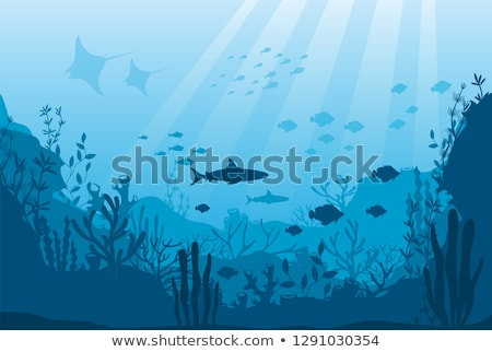 Undersea Background Stock photo © AlienCat