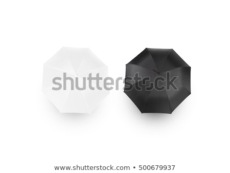 Black opened Umbrella Stock photo © Lightsource