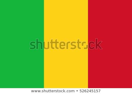 флаг Мали путешествия баннер ряби иллюстрация Сток-фото © MikhailMishchenko