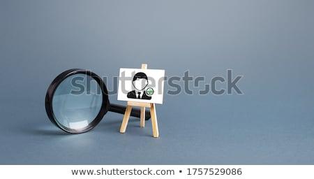 Geschoold werknemers werk achtergrond werknemer hamer Stockfoto © dacasdo