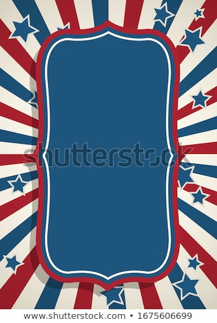 ヴィンテージ · 第4 · 米国 · 休日 · スタイル - ストックフォト © squarelogo