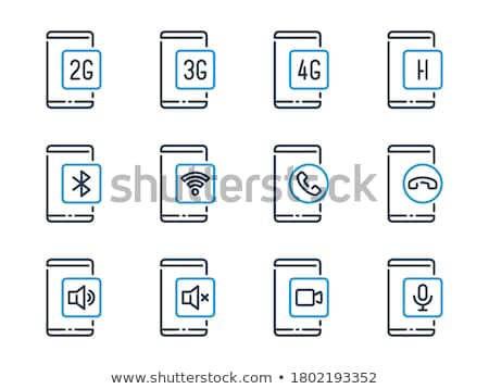 ブルートゥース 接続 ベクトル コンピュータ タブレット ストックフォト © RedKoala