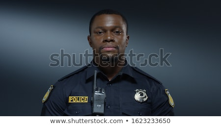 detetive · trabalhar · forense · evidência · boca · criminal - foto stock © paulfleet