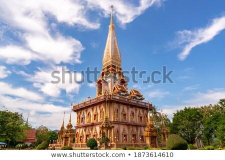Phra Mahathat Chedi Wat Chalong Stock photo © pop_araks