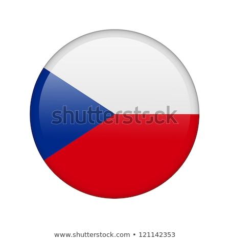набор · Кнопки · Чешская · республика · красочный - Сток-фото © flogel