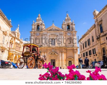 Historische architectuur Malta zuidelijk Europa hemel gebouw Stockfoto © Spectral