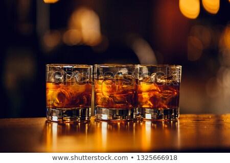 Whiskey 3 Stock photo © chrisbradshaw