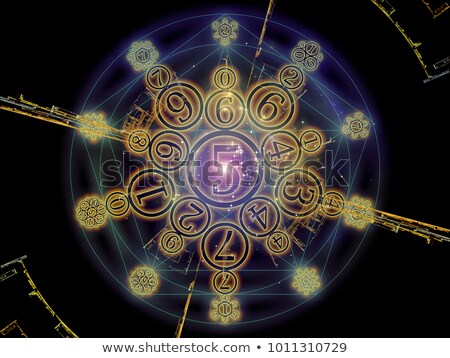 Magical knowledge about numbers (Numerology).  Stock photo © grechka333