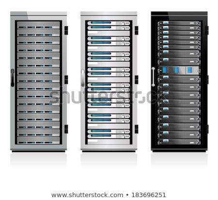 serveur · chambre · hébergement · nuage · base · de · données - photo stock © fenton