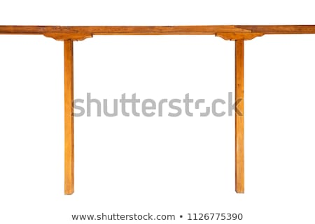 blank isolated wooden veranda Stock photo © taviphoto