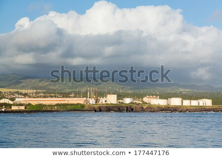 Diesel power generating station Kauai Stock photo © backyardproductions