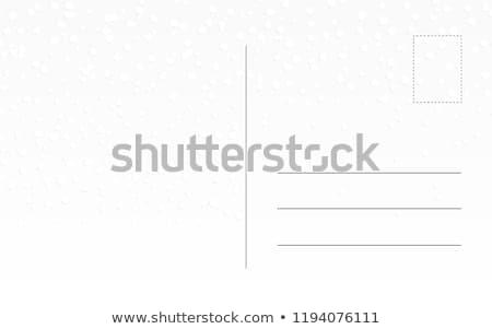 Backside of postcard Stock photo © andromeda