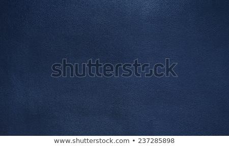 blue leather furniture texture Stock photo © romvo