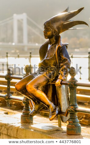 Little Princess statue Budapest Hungary Stock photo © goce
