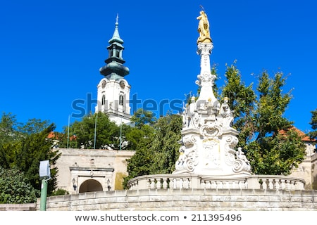 gate of castle in nitra slovakia stock photo © phbcz