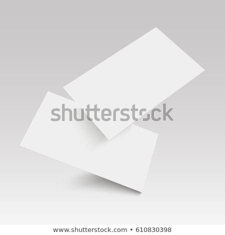 Stock fotó: Business Card Stand