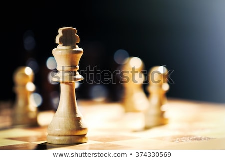 Black Chessman Stock photo © make