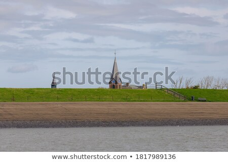 small harbor dutch island texel stock photo © ivonnewierink