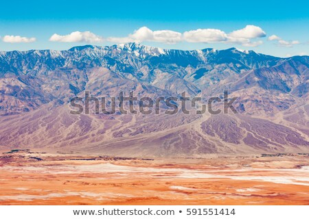 Death Valley from the telescope peak Stock photo © rmbarricarte