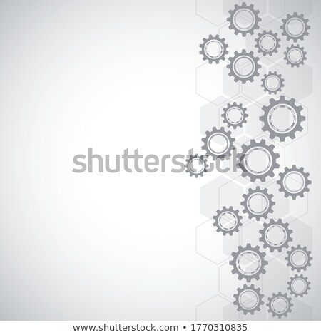 absztrakt · tech · háttér · vektor · erő · gomb - stock fotó © orson
