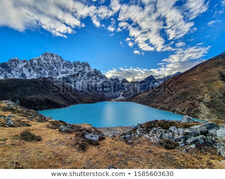 Gokyo lake Stock photo © goinyk