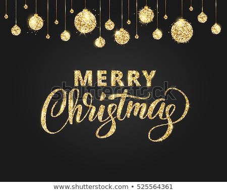 Christmas greating card Stock photo © oblachko