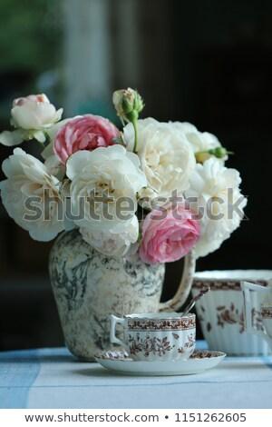 Pink Porcelain Pitcher Stock photo © dezign56