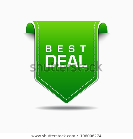 best deal green vector icon design stock photo © rizwanali3d