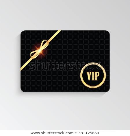 super discount golden vector icon button stock photo © rizwanali3d