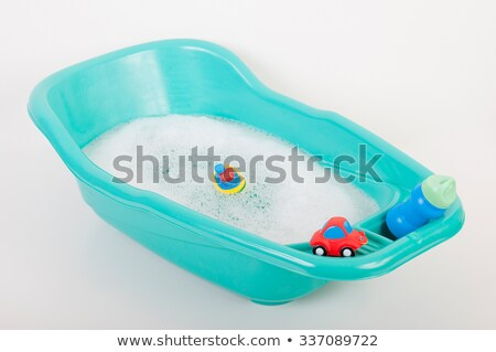 Small tub isolated on the white Stock photo © Elnur