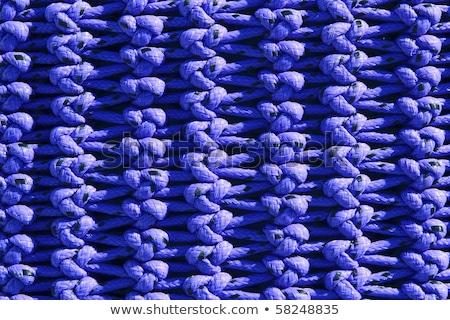 net · macro · dettaglio · texture · blu · professionali - foto d'archivio © lunamarina