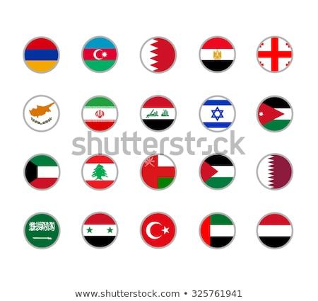 Турция Ливан флагами головоломки изолированный белый Сток-фото © Istanbul2009