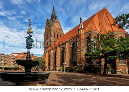 bazilika · Németország · kilátás · gótikus · templom · utazás - stock fotó © vladacanon