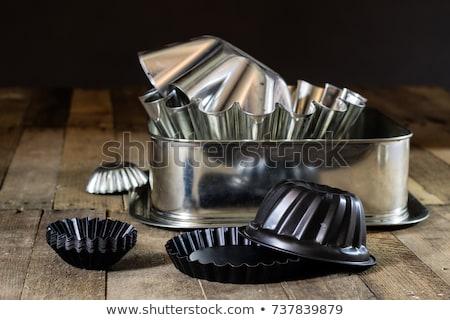tart shells and baking pans stock photo © digifoodstock