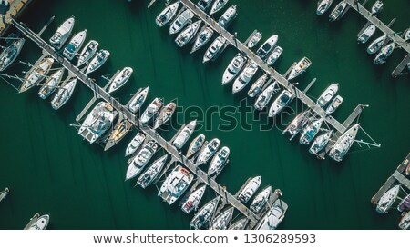 Parking of boats and yachts in Lisbon, Portugal Stock photo © artfotoss