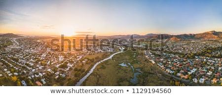 Amanecer queensland Australia primer plano sol superior Foto stock © photohome