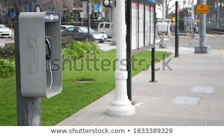 telephone handset on the street  stock photo © OleksandrO