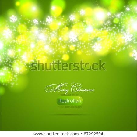 vector · christmas · licht · lampen · gelukkig · abstract - stockfoto © beholdereye