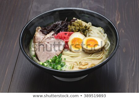 ramen chashu  Stock photo © vichie81