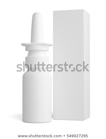 spray · plastic · fles · lang · papier · vak - stockfoto © cherezoff