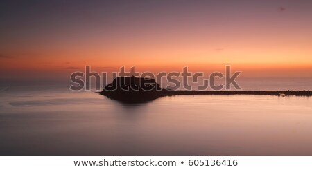 barrenjoey pittwater and palm beach scenic sunrise stock photo © lovleah