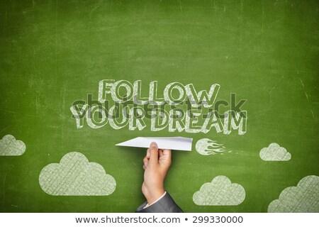 plan · başarı · motivasyon · dikkat · hatırlatma · el · yazısı - stok fotoğraf © zerbor